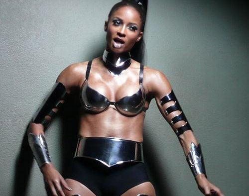 Pop Star Goes Cyberwoman