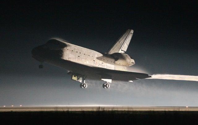 Atlantis Lands, Ending NASA's Shuttle Program