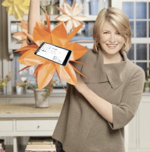 What Is Martha Stewart Up to With All This Tablet Talk?