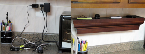 Build a Clean, Wall-Mounted Charging Station