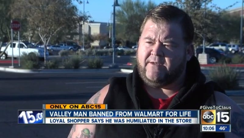 Walmart Bans Man for Life for Taking Advantage of Store Policy