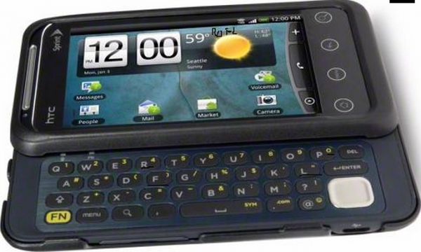 Leaked Photo of HTC's EVO Shift 4G Shows It's Got a Sliding Keyboard