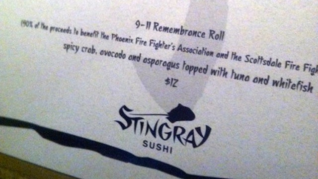 9/11 Sushi Is the Freshest Way to Remember Our National Tragedy