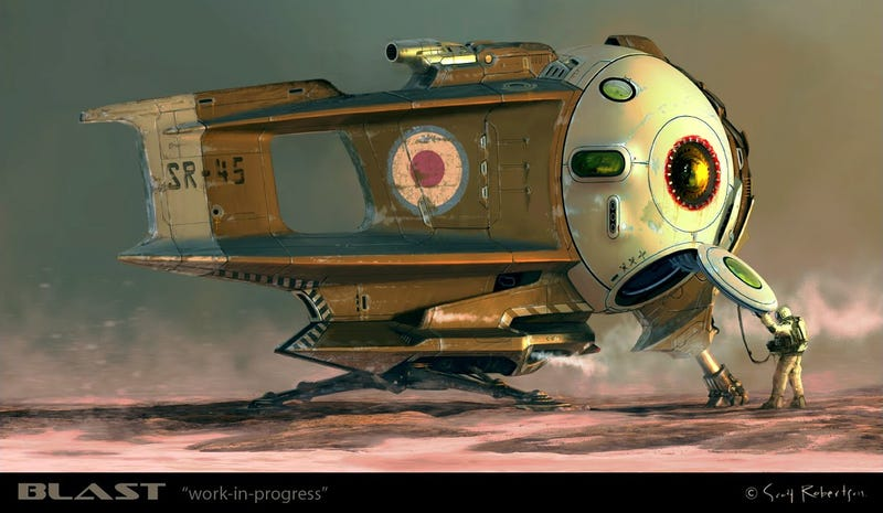 Spaceship Concept Art (Gallery 2)