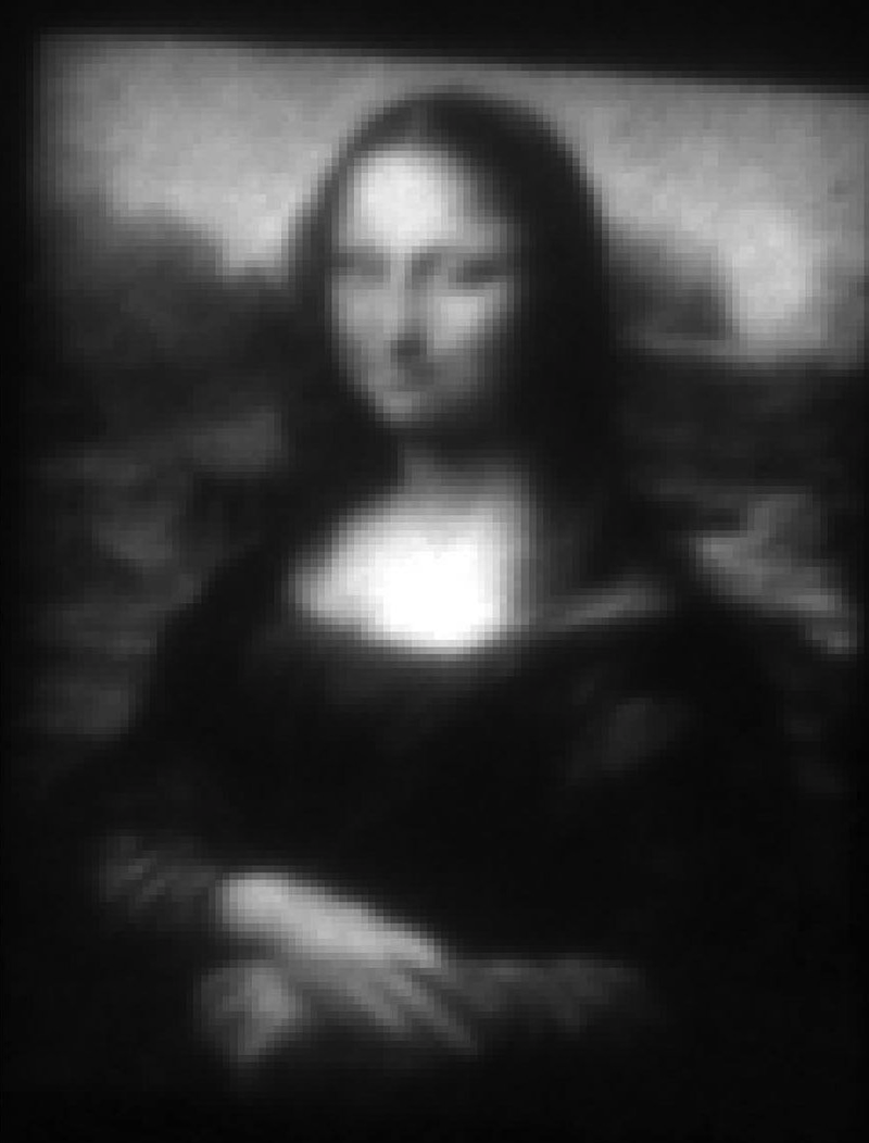 You won't believe how tiny the world's smallest Mona Lisa is