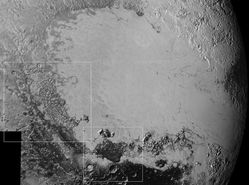 La NASA publica nuevas fotos de Plutón que detallan lo compleja que es su superficie