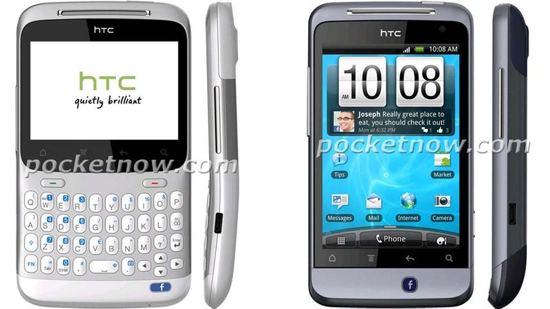 Are These HTC's Two Facebook Phones?