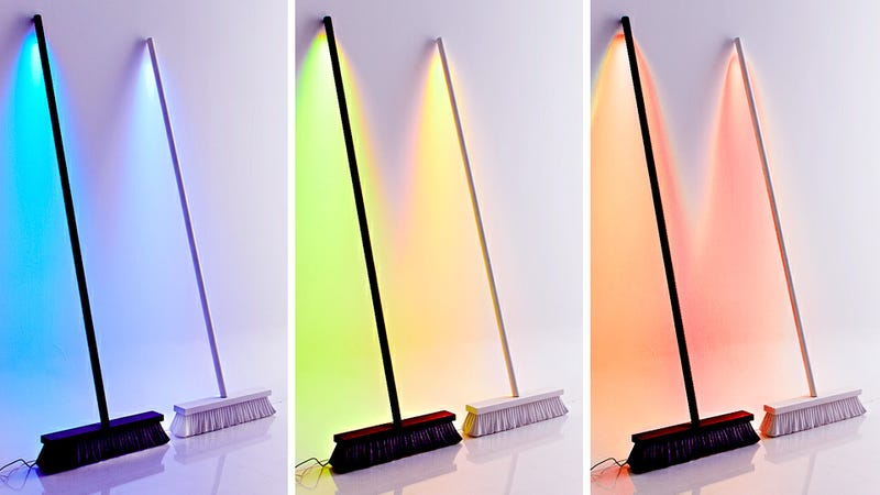 LED Broom Lamp Sweeps Away the Darkness of Your Home