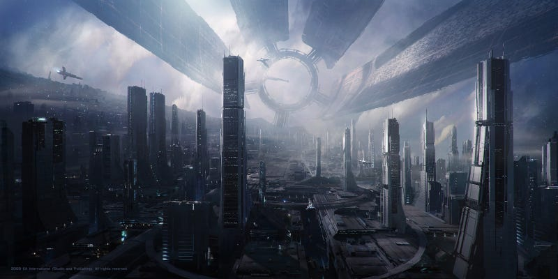 Art That Brings The Mass Effect Universe (And Beyond) To Life