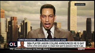 "ESPN's Chris Broussard Says Being Gay Is ""An Open Rebellion To God"""