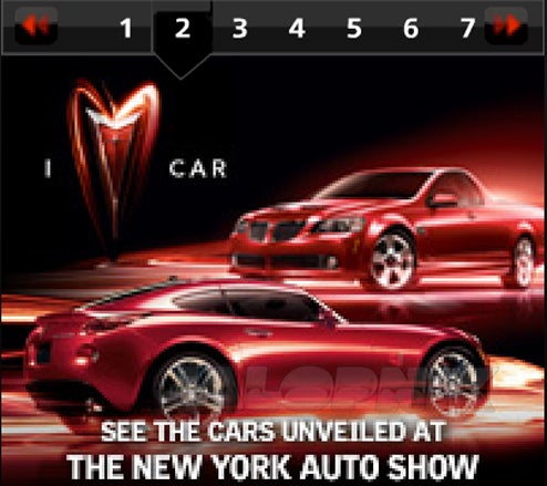 2009 Pontiac Solstice Coupe Revealed Early On Pontiac Web Site