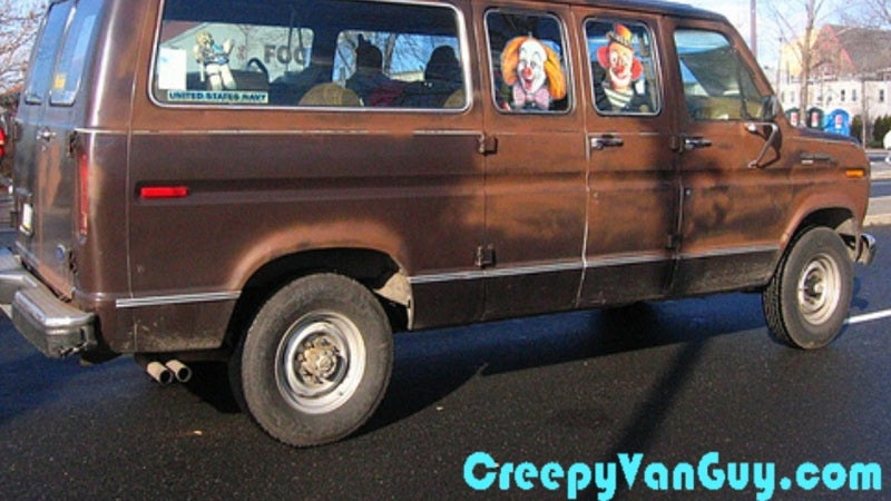 What's the world's creepiest van?