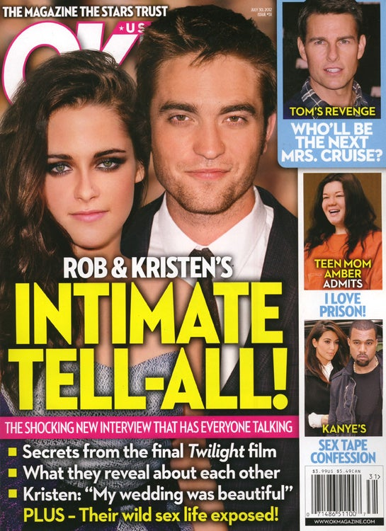 This Week in Tabloids: Kristen Stewart Got New Boobs, Say Two Out of Two Plastic Surgeons