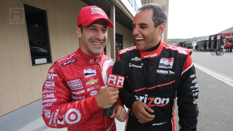 Get An Indy 500 Winner & An Ex-F1 Driver Together And They Talk About: The Bachelor