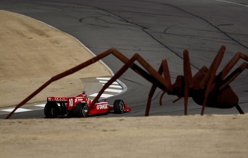 Giant Spiders Invade IRL Spring Testing
