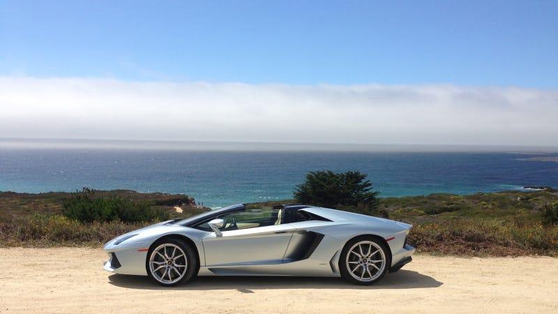 A Lamborghini Roadster Should Always Be Driven Near A Coast