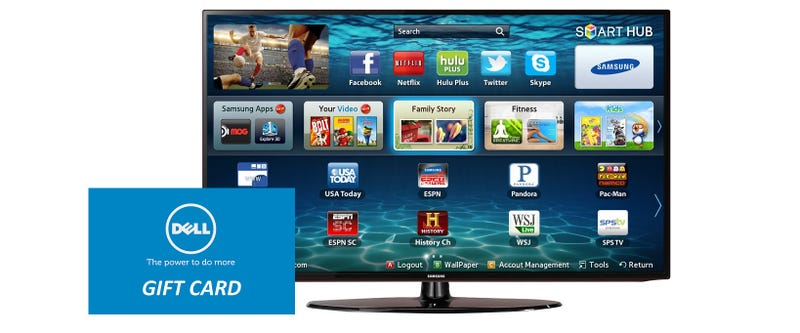Just $348 Scores a Samsung 32-inch LED TV and a $125 Dell Gift Card