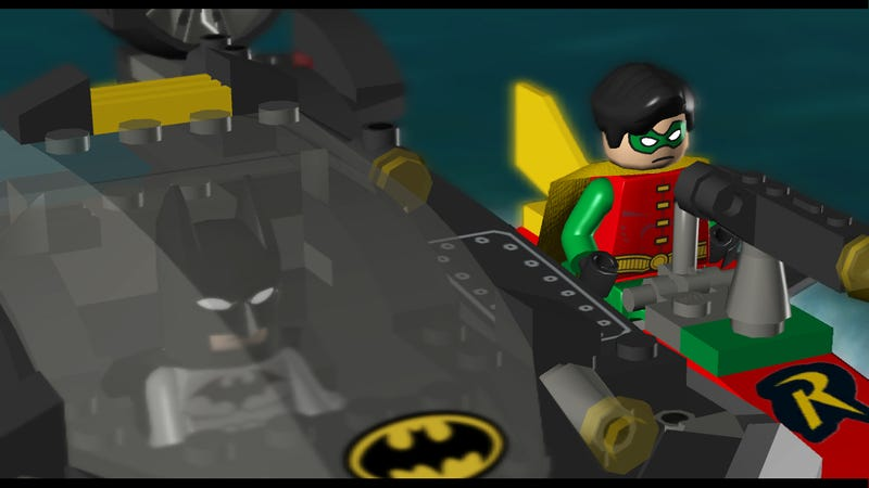 Lego Batmobile, A Muscle Car For Gotham's Mean Streets