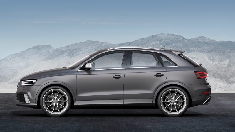Hold On While Audi Light Truck-ifys The Q3 For Americans