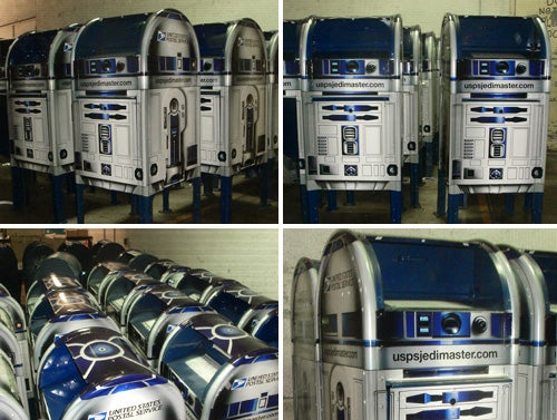 R2D2 Mailbox: Use the Postal Service, Luke