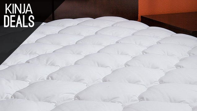 Upgrade Your Mattress With These Discounted, Hotel-Grade Toppers.