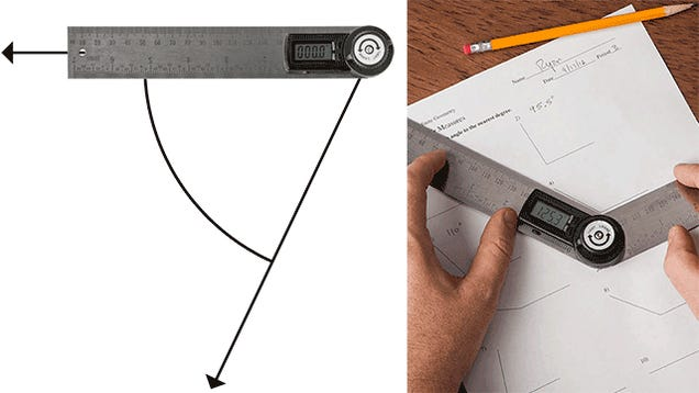 Digital Protractor Promises More Accuracy Than a Plastic Half Circle