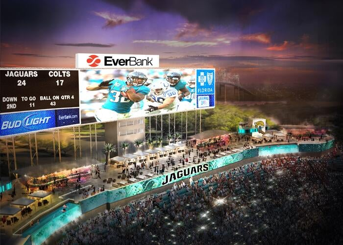 Jaguars May Show RedZone Channel On Their Stadium Video Board