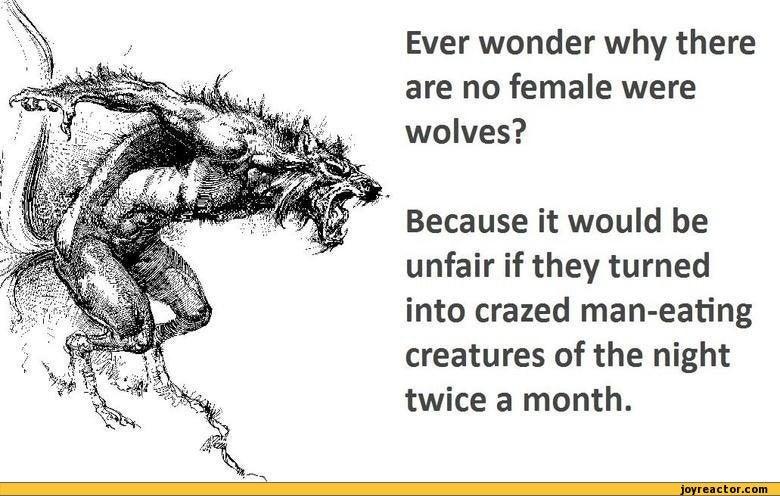 Fun with Etymology - Feminist Werewolves