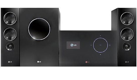LG Chocolate Media Center Only Does 2.1 Audio, But Plays Back DivX over HDMI