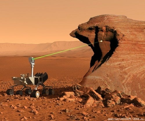 NASA's Laser Pulse ChemCam Is Destined For CSI: Mars