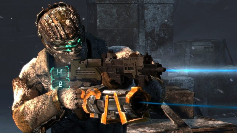 'Resident Evil?…Lost Planet?… Forget them. You know Dead Space 3 is going to annihilate them on horror, thrills and action.'
