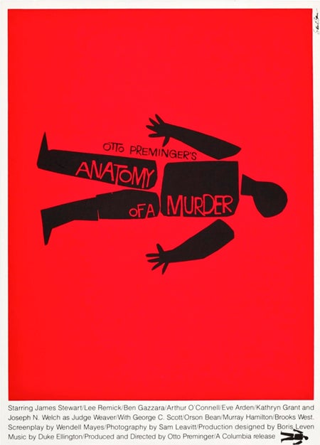 17 of the Coolest Film Posters Designed By Minimalist Legend Saul Bass