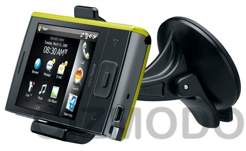 Garmin-Asus Nuvifone M20: A Surprisingly Cute WinMo 6.1 GPS Phone