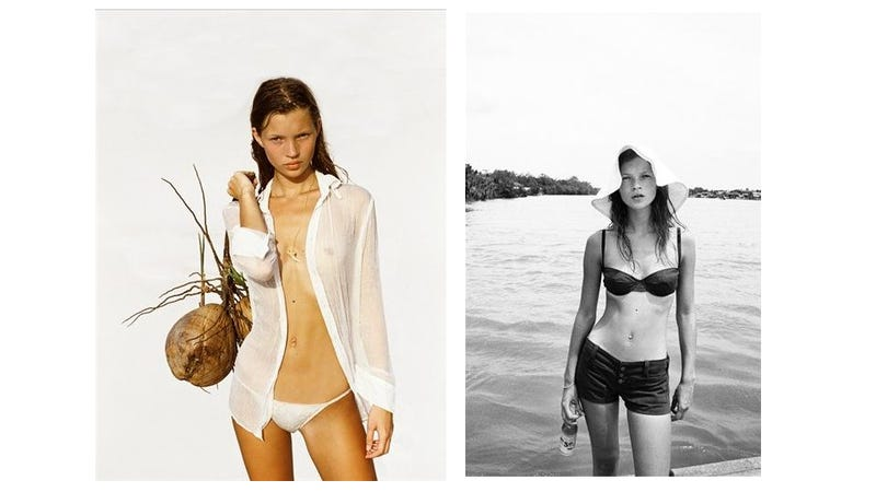 Unseen Corinne Day Photos Of Kate Moss Published