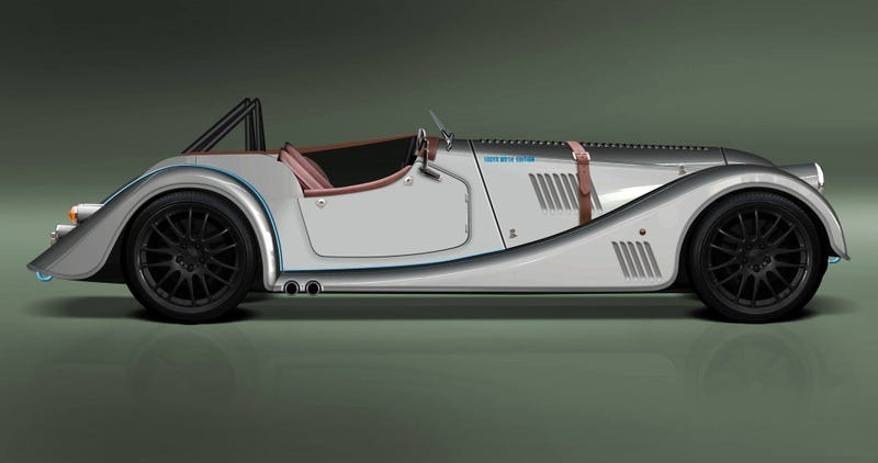 The Morgan Plus 8 Speedster Is Your Old-School Steelie Dream