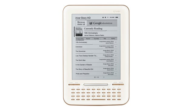 The iRiver Story HD Is the First E-Book Reader Integrated with Google eBooks