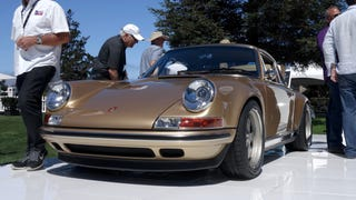 Singer's New 911 Is 4 Liters Of Golden Chocolate Lusciousness