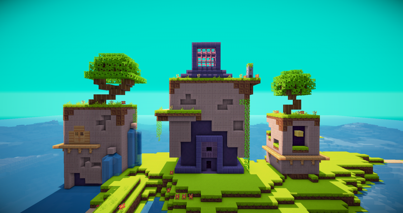 Fez's Village in Minecraft is an Amazing Thing