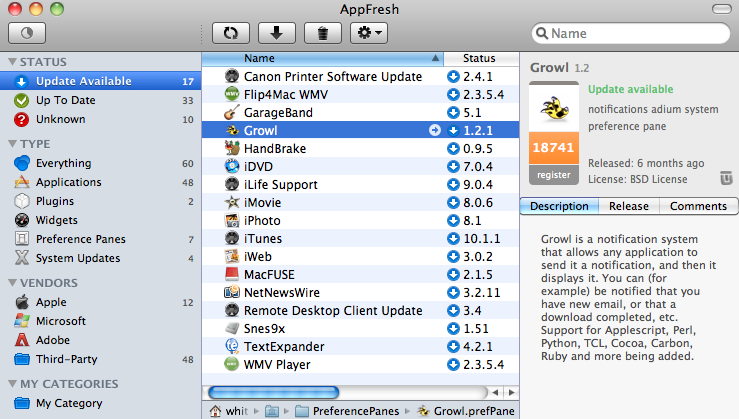 AppFresh Updates All Your Mac Apps from One, Unified Place