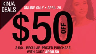 Featured Apparel Deal: $50 off $100+ at Last Call
