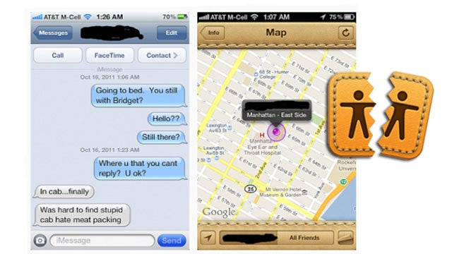 Did iPhone's 'Find My Friends' Just Break Up Its First Marriage?