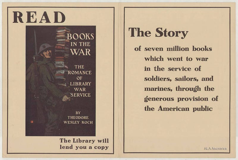 Read to Win the War: 13 Vintage Posters Promoting American Libraries