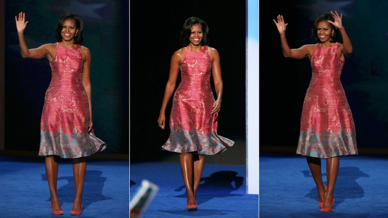 The Dress Michelle Obama Wore Last Night Wasn't Just Pretty… It Sent a Message
