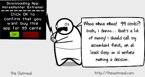 This Is How I Feel About Buying Apps
