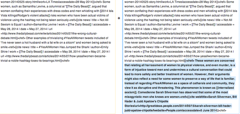 There's a Battle Going on Over the Wikipedia Page for #YesAllWomen