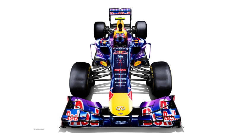 This Is Red Bull's Deliciously Purple New F1 Car