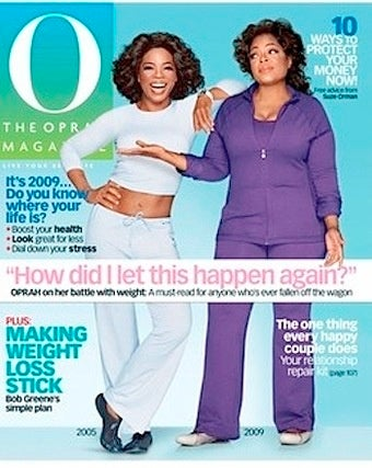 "Oprah's ""Embarrassed"" About Her Weight; I'm Pissed Off"