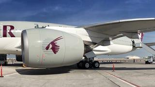 The Qatar Airways A350 -- Wow