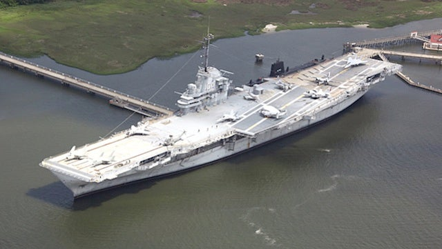 Minor League Home Run Derby To Be Held On Flight Deck Of Old Aircraft Carrier