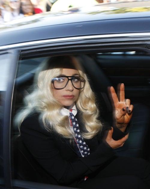 Lady Gaga Hires Ghostbusters